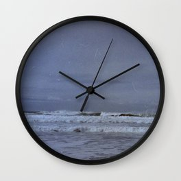 Waves along the Oregon Coast Wall Clock