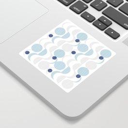 Blue Moon #society6 #decor Sticker