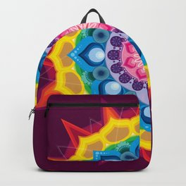 Mandala- Spectrum Lotus Backpack
