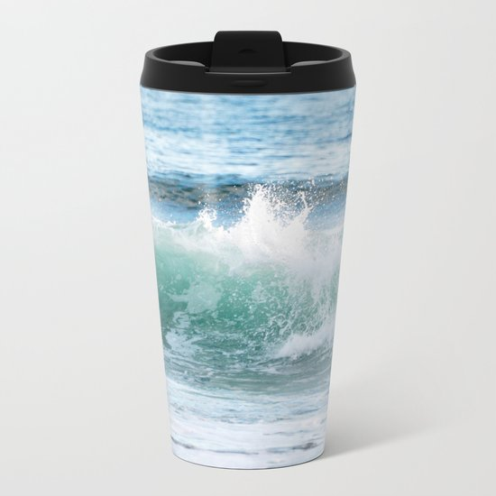 OCEAN WAVE Metal Travel Mug