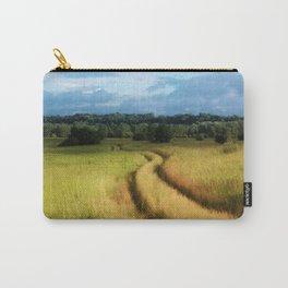 Path through Grassland Carry-All Pouch