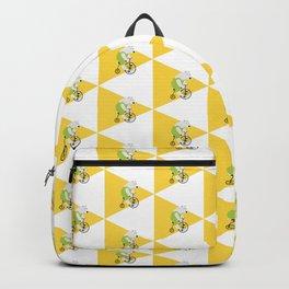 Cycling Polar Bear Triangle Backpack