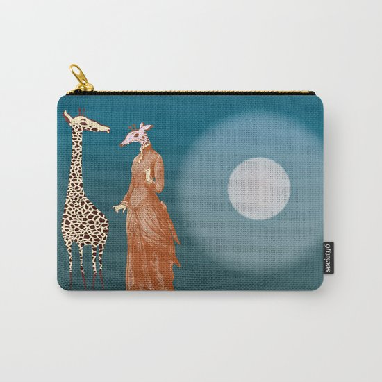 Giraffes - Late night rendezvous Carry-All Pouch