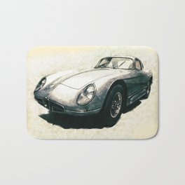 Sports Car Bath Mat