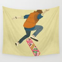 danny haas Wall Tapestries featuring McFly by Danny Haas