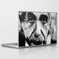 einstein Laptop & iPad Skins featuring Einstein by lyneth Morgan