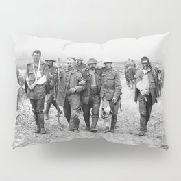 Wounded World War I Soldiers (July 19 1916) Pillow Sham
