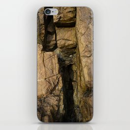 Door into the Cliff Face iPhone Skin