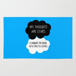 My Thoughts are Stars Rug