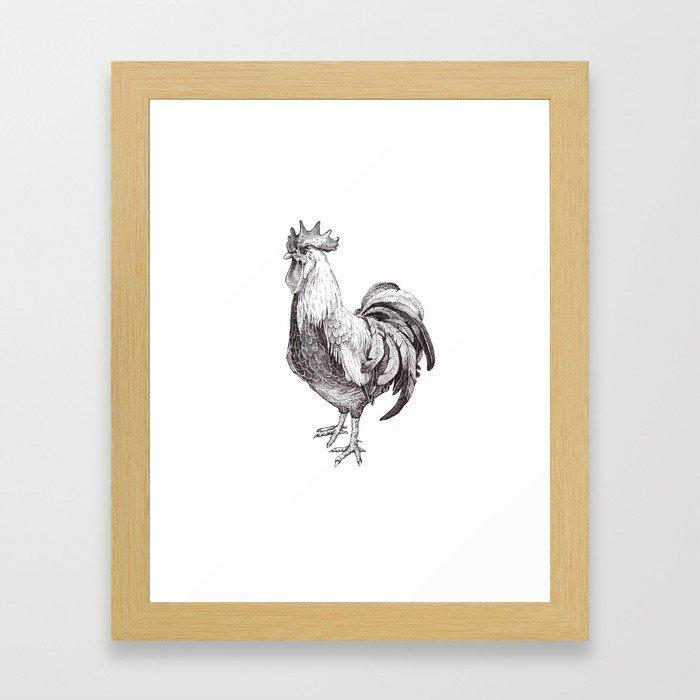 Galo Framed Art Print