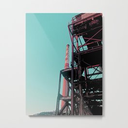 INDUSTRIAL PLAYGROUND - ASARCO IN DUST Metal Print