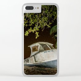 Wild Guy Clear iPhone Case