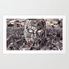 Brain Lapse (Still Frame 2) Art Print