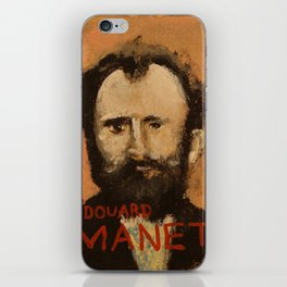 50 Artists: Edouard Manet iPhone Skin