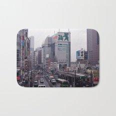 Shinjuku Skyline Bath Mat