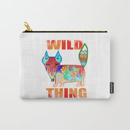 Wild thing - fox Carry-All Pouch