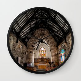 St Tudcluds Church Wall Clock