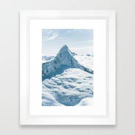 Majestic Mt. Aspiring (Tititea) Framed Art Print