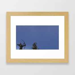 War Stars: Imperial Troops or Just Archers Framed Art Print