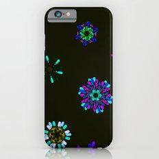Vivid flowers iPhone 6s Slim Case