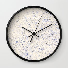 Alaskan Winter Dust Wall Clock