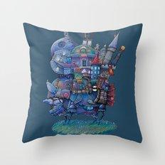Fandom Moving Castle Throw Pillow