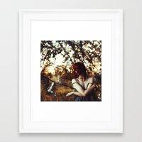 half life Framed Art Prints featuring luminophore half-life by ezo renier