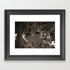 Bits Framed Art Print