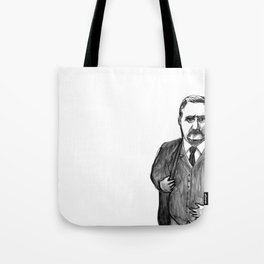 Theodore Roosevelt Did All the Things. Tote Bag