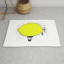 Lemon zeppelin Rug