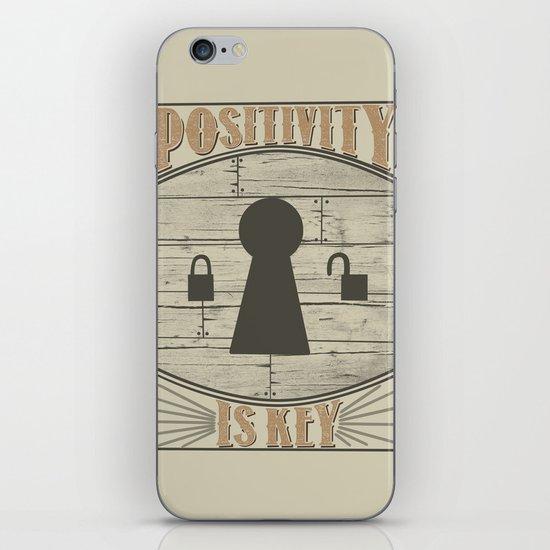 Positivity Is Key v.2 iPhone & iPod Skin