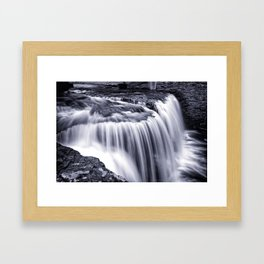 Jackson Road Falls, 2016.03.18 Framed Art Print