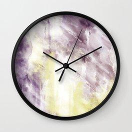 ABSTRACT ART Dream of Paint No. 006 Wall Clock