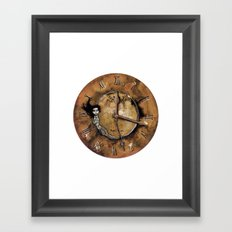 Counting Out Time Framed Art Print