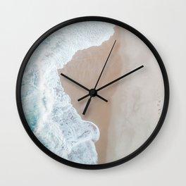 Ocean Mint Wall Clock