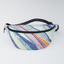 Spine Lines Fanny Pack