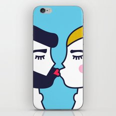Kiss (One) iPhone & iPod Skin