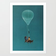 Goodnight Stories Art Print
