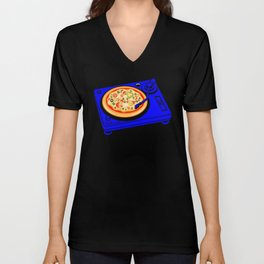Pizza Scratch Unisex V-Neck