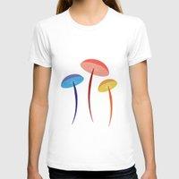 mushroom T-shirts featuring Mushroom by Emmyrolland