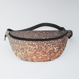 Tortilla brown Glitter effect - Sparkle and Glamour Fanny Pack