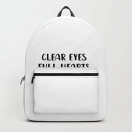 Clear Eyes Full Heart Can't Lose Backpack