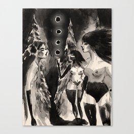 Moon Thieves Canvas Print