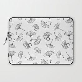 Ginkgo leaves pattern Laptop Sleeve