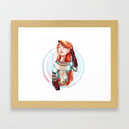Full Breakfast Framed Art Print