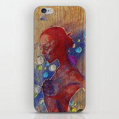carved in wood iPhone & iPod Skin