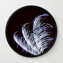 Tropical silhouette Wall Clock