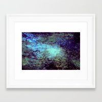 cosmic Framed Art Prints featuring Cosmic by Kimsey Price