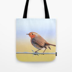 The Red Robin Tote Bag