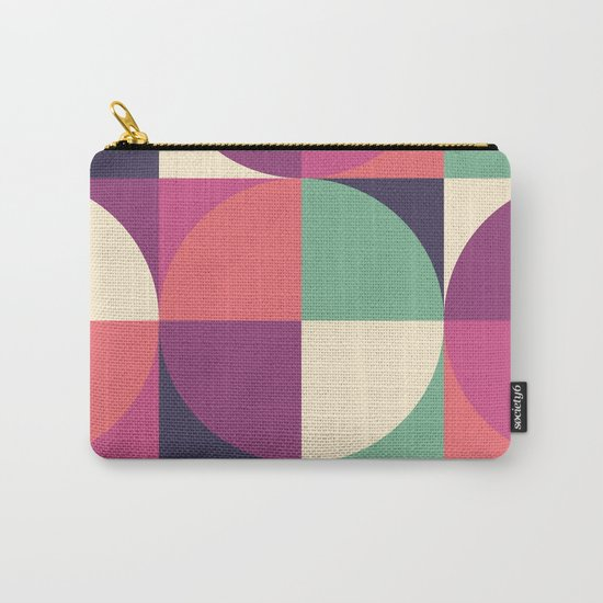 Quarters Quilt 3 Carry-All Pouch